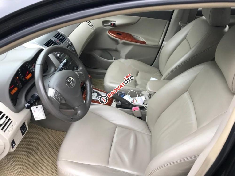 Bán Toyota Corolla altis V2.0 đời 2010, màu đen-0