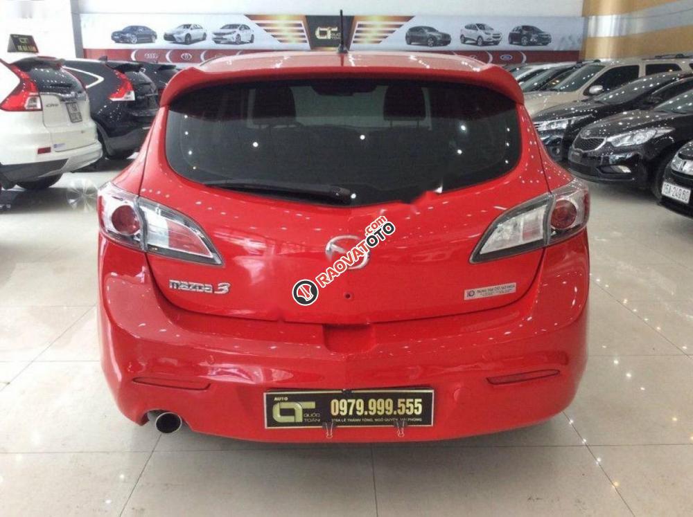 Cần bán xe Mazda 3 1.6AT đời 2010, màu đỏ, nhập khẩu nguyên chiếc, số tự động giá cạnh tranh-8