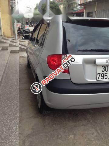 Cần bán Hyundai Getz 2009, màu bạc, nhập khẩu nguyên chiếc xe gia đình-3