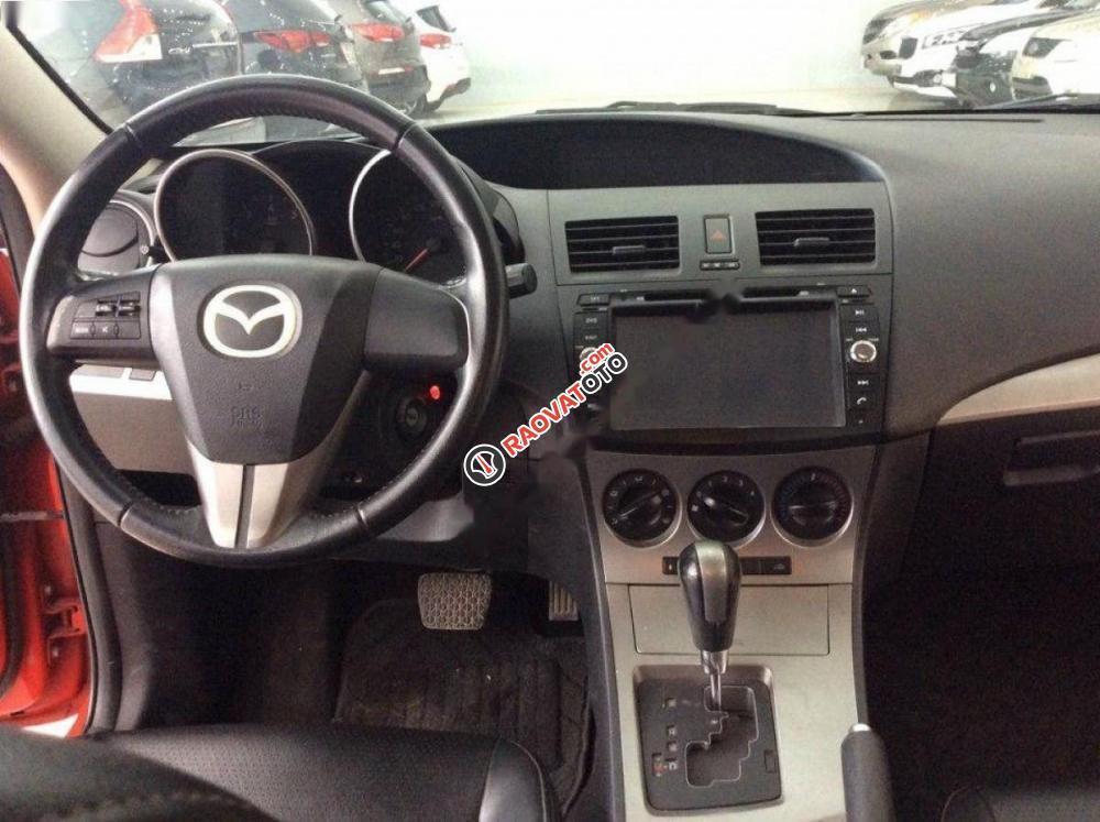 Cần bán xe Mazda 3 1.6AT đời 2010, màu đỏ, nhập khẩu nguyên chiếc, số tự động giá cạnh tranh-4