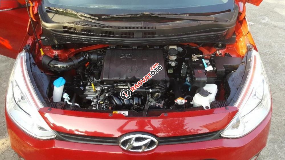Cần bán lại xe Hyundai Grand i10 1.0 MT năm 2015, màu đỏ, nhập khẩu xe gia đình-7