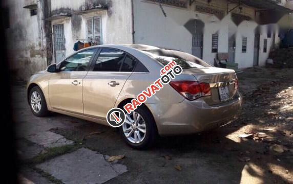 Cần bán gấp Chevrolet Cruze 2015, màu ghi vàng  -1