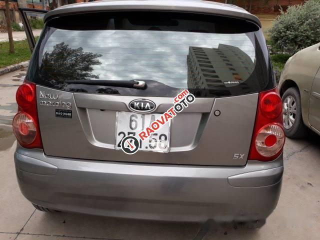 Cần bán lại xe Kia Morning đời 2009, màu xám giá cạnh tranh-0