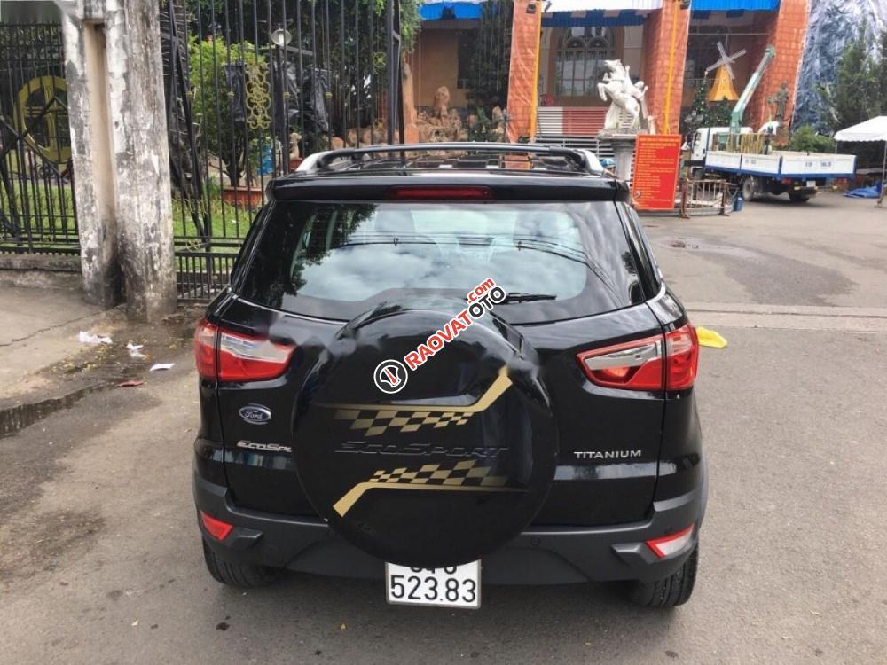 Bán ô tô Ford EcoSport Titanium Black 1.5L AT đời 2017, màu đen xe gia đình-9