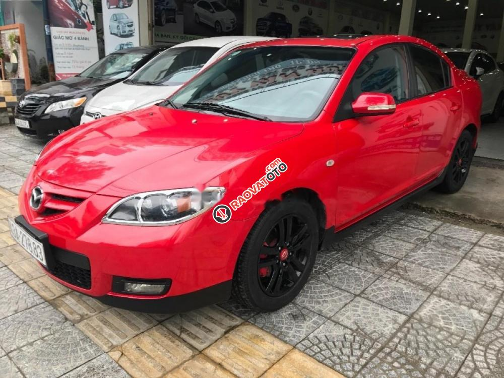 Bán Mazda 3 sản xuất 2009, màu đỏ, xe nhập, 355 triệu-4