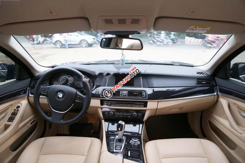 Bán ô tô BMW 5 Series 520i 2017, màu nâu, xe nhập-8