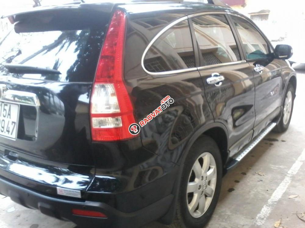 Bán xe Honda CR V đời 2010, màu đen, 555 triệu-3