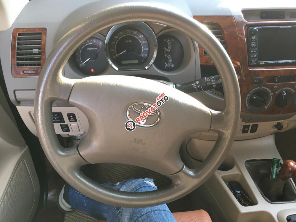 Bán Toyota Fortuner 2.7SRS đời 2009, màu xanh lam, xe nhập-5