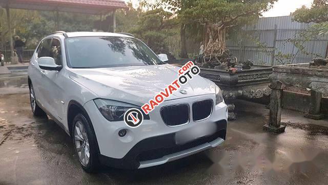 Cần bán BMW X1 3.0 đời 2010, màu trắng, nhập khẩu chính chủ-0