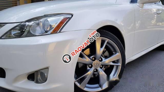 Bán xe Lexus IS 250 đời 2009, màu trắng, xe nhập chính chủ-4
