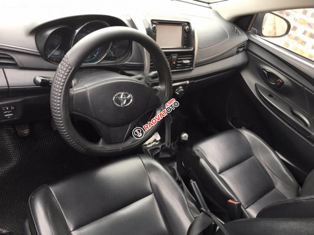 Cần bán lại xe Toyota Vios 1.5E 2014, màu đen chính chủ-7