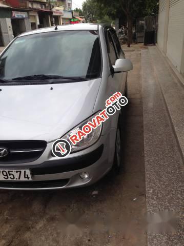 Cần bán Hyundai Getz 2009, màu bạc, nhập khẩu nguyên chiếc xe gia đình-1