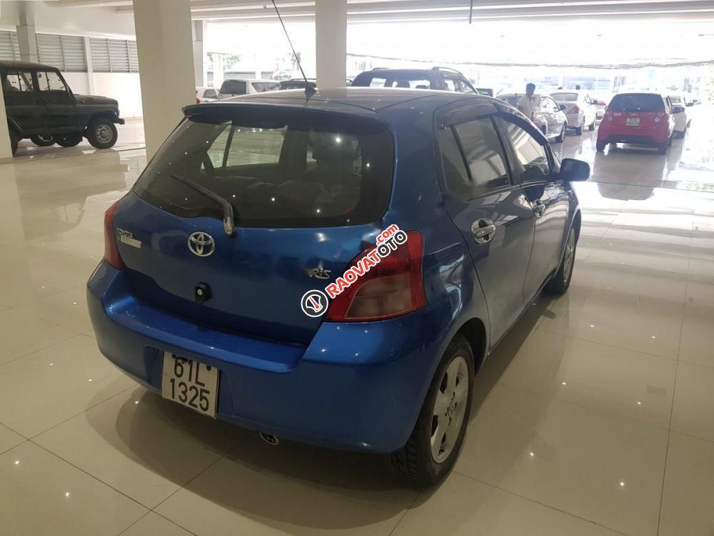 Cần bán lại xe Toyota Yaris 1.3 đời 2008, màu xanh lam, xe nhập-3