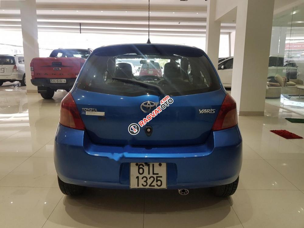 Cần bán lại xe Toyota Yaris 1.3 đời 2008, màu xanh lam, xe nhập-5
