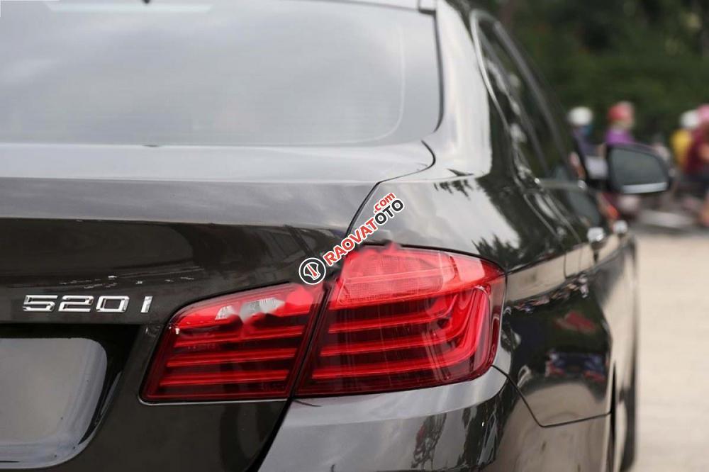 Bán ô tô BMW 5 Series 520i 2017, màu nâu, xe nhập-4