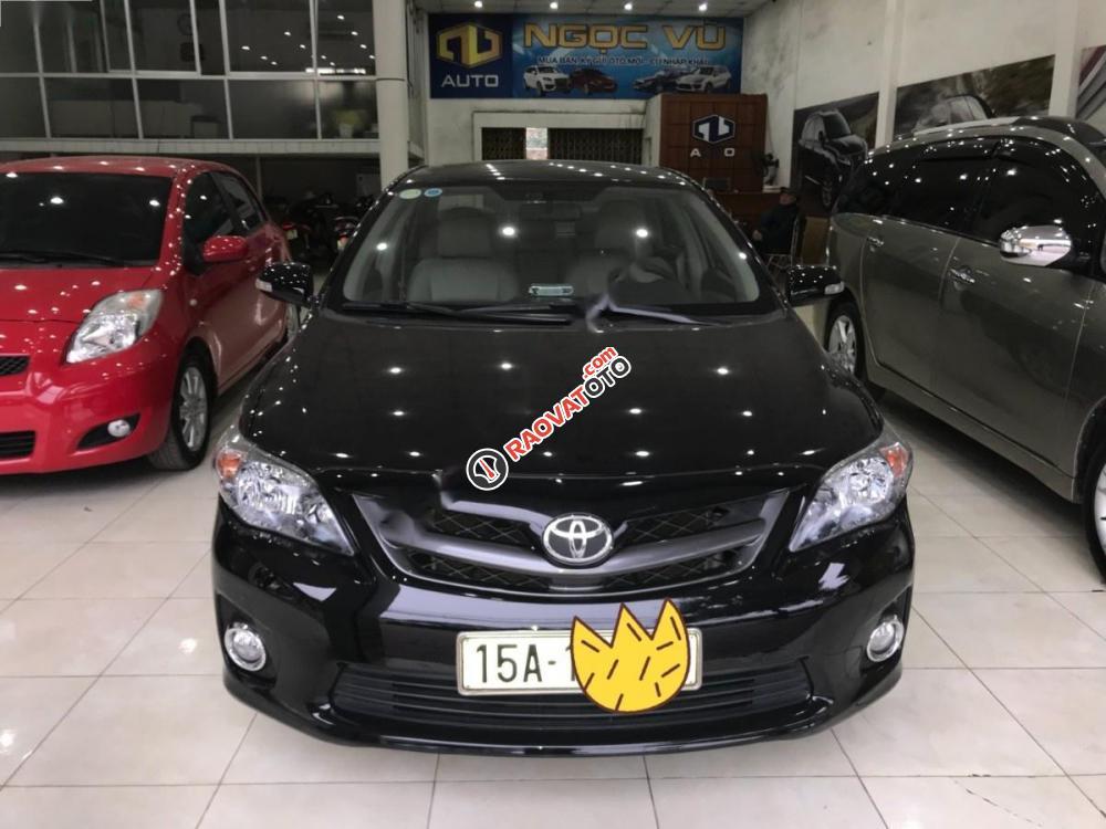 Bán Toyota Corolla altis 2.0 V đời 2014, màu đen, 660tr-8