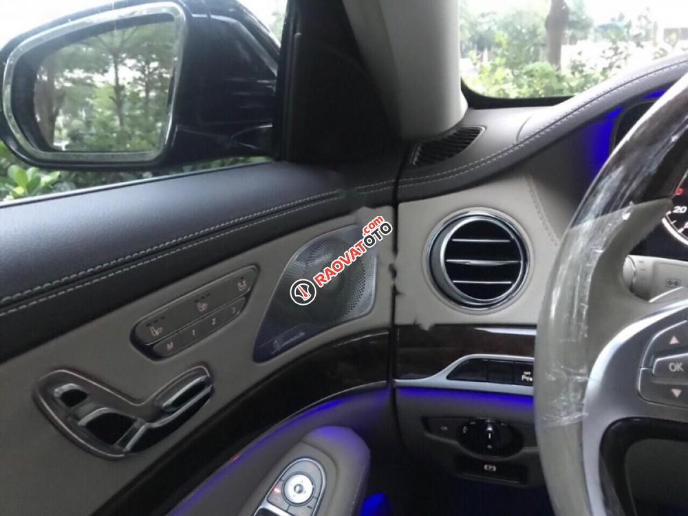 Bán Mercedes S400L đời 2015, màu đen-4