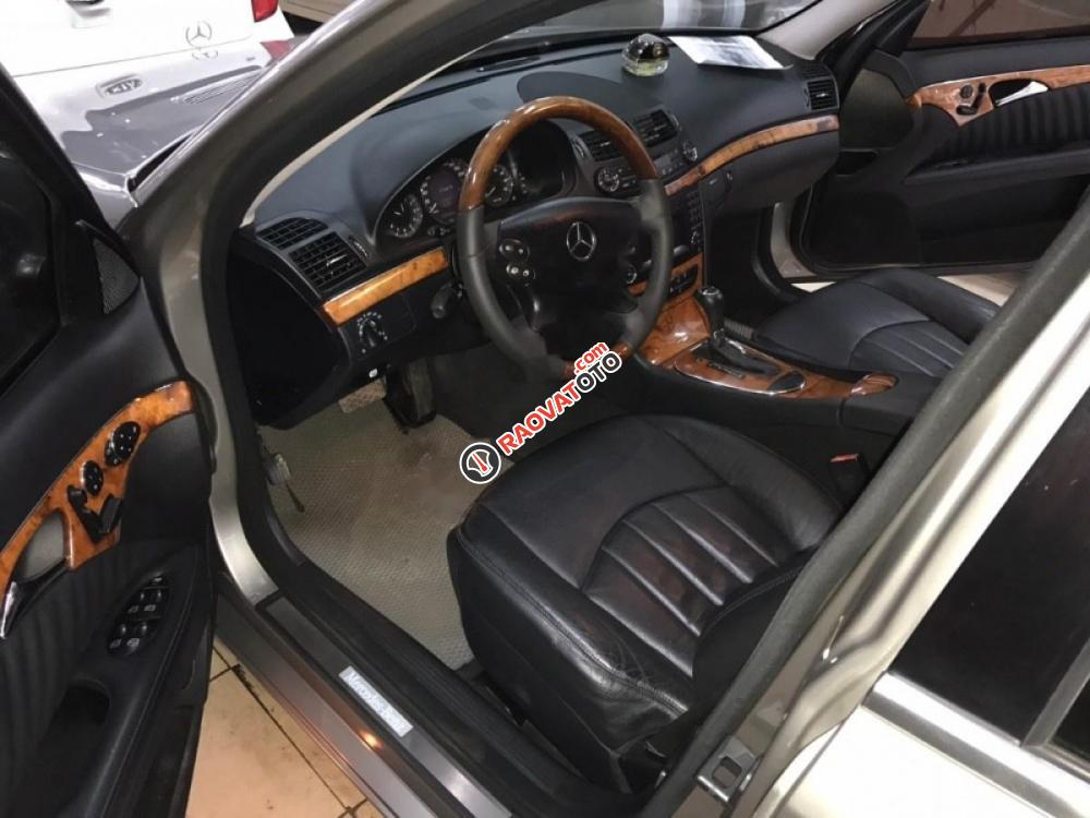 Bán Mercedes E280 đời 2008, màu xám-5