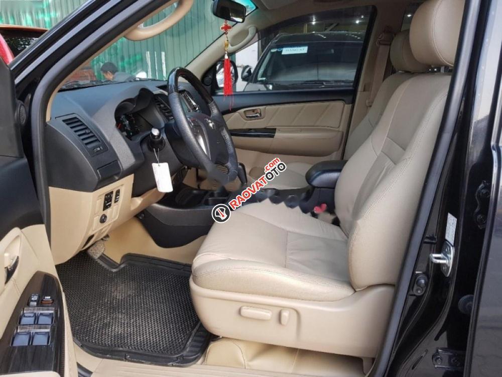 Cần bán xe Toyota Fortuner đời 2015, màu đen số tự động, giá 820tr-4