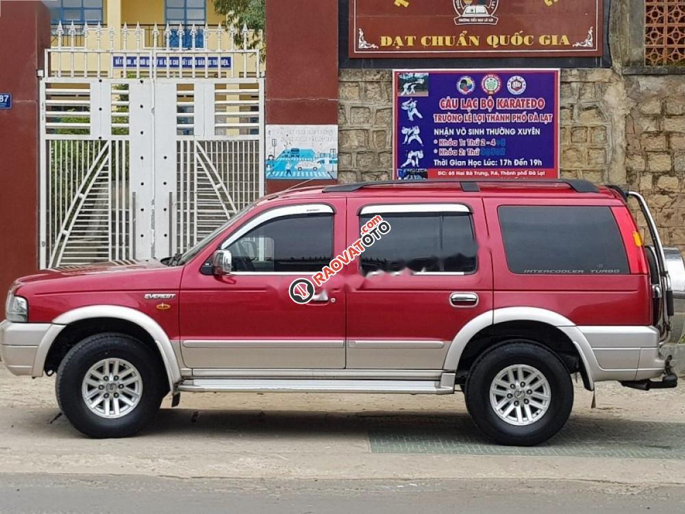 Bán Ford Everest đời 2005, màu đỏ còn mới, giá chỉ 300 triệu-2