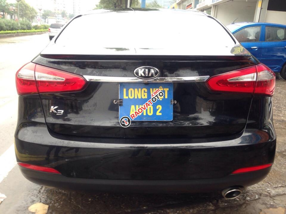 Bán Kia K3 1.6AT đời 2015, màu đen, giá 550tr-2