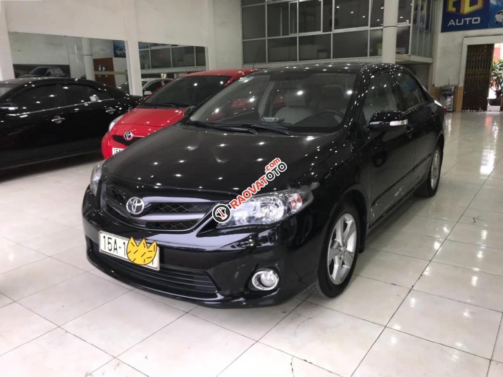 Bán Toyota Corolla altis 2.0 V đời 2014, màu đen, 660tr-9