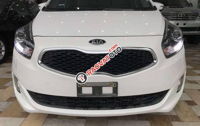 Bán Kia Rondo năm 2015, màu trắng còn mới, giá chỉ 640 triệu-0