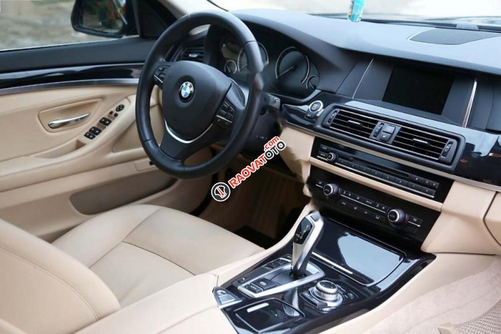 Bán ô tô BMW 5 Series 520i 2017, màu nâu, xe nhập-5