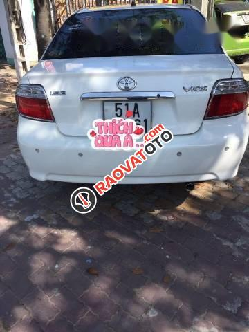 Cần bán Toyota Vios G đời 2006, màu trắng-5