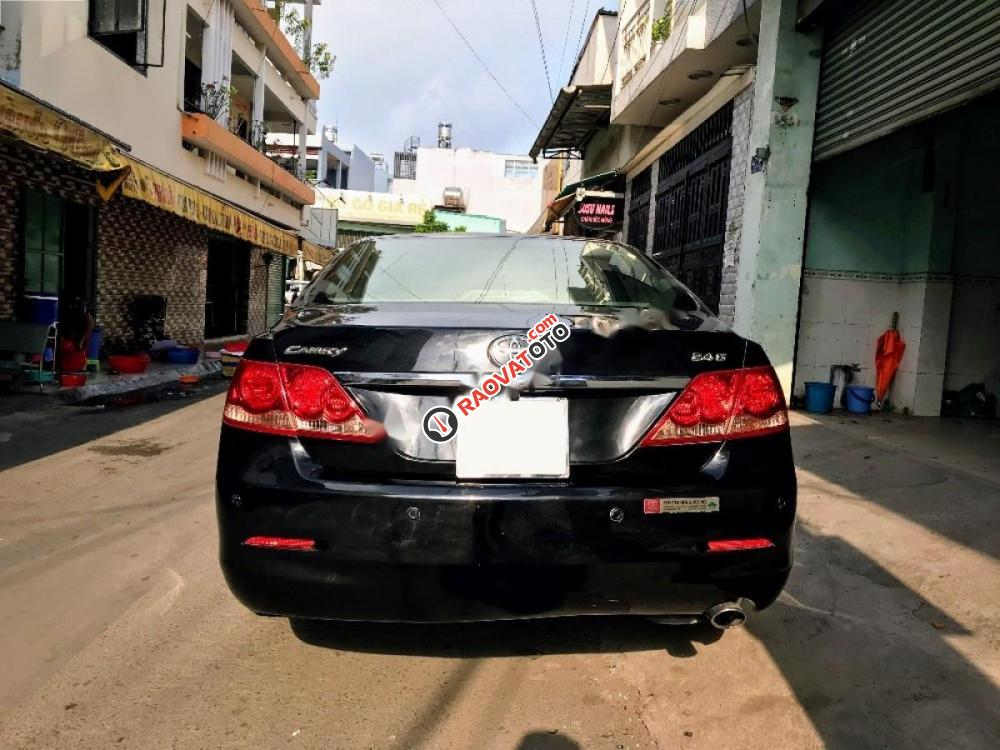 Cần bán gấp Toyota Camry 2.4G năm 2008, màu đen, 585tr-3