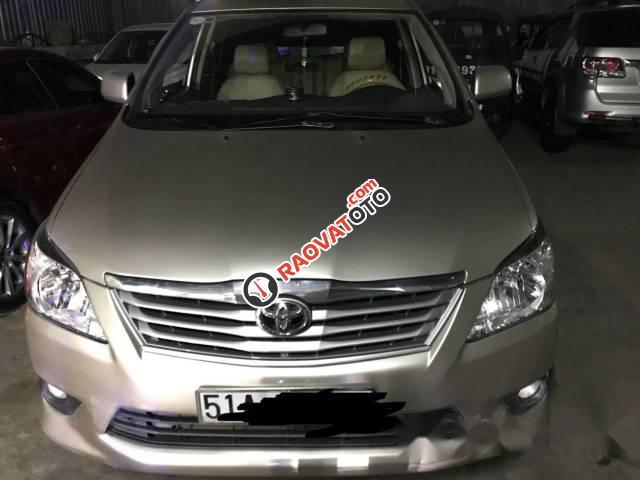 Bán xe Toyota Innova E đời 2013, màu bạc số sàn, giá chỉ 490 triệu-1