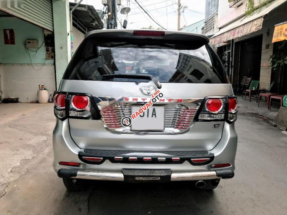 Cần bán lại xe Toyota Fortuner 2.5G năm 2014, màu bạc-5