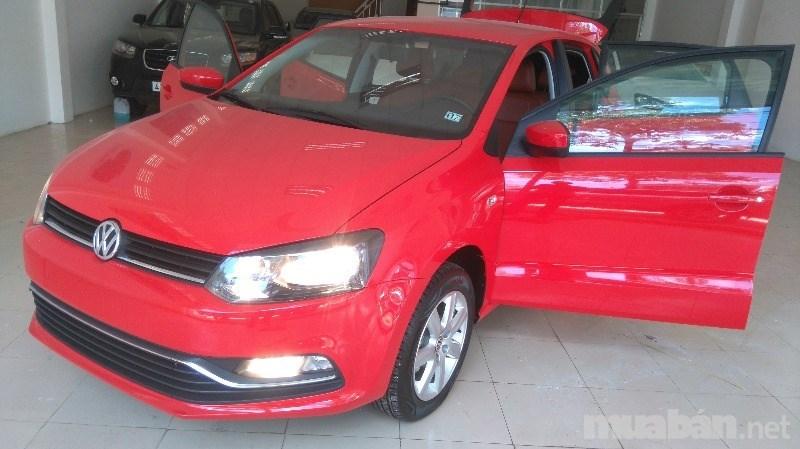 Bán ô tô Volkswagen Polo đời 2015, màu đỏ, xe nhập giá cạnh tranh-0