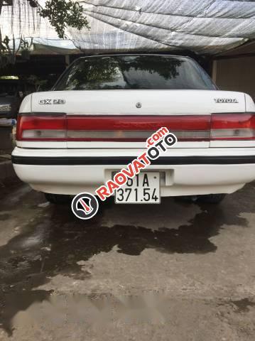 Bán Toyota Corona đời 1990, màu trắng, giá chỉ 75 triệu-1