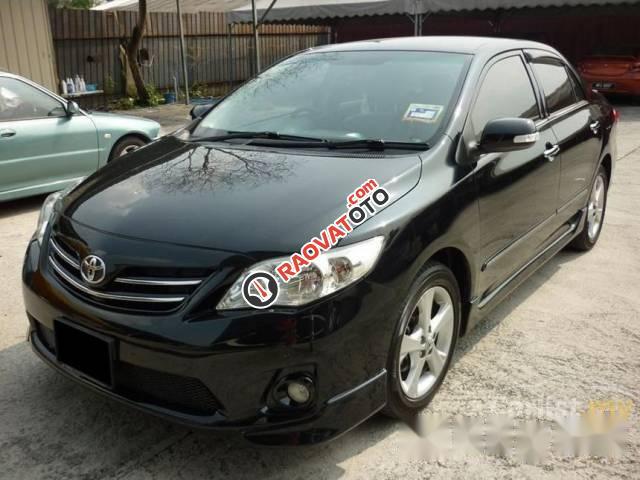 Bán ô tô Toyota Corolla Altis đời 2013, màu đen số tự động-1