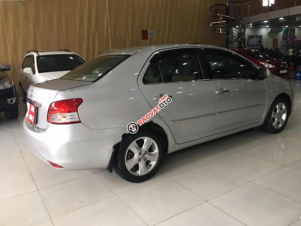 Cần bán gấp Toyota Vios đời 2008, màu bạc, giá 315tr-0