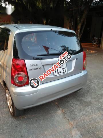 Cần bán xe Kia Morning đời 2011, màu bạc -2