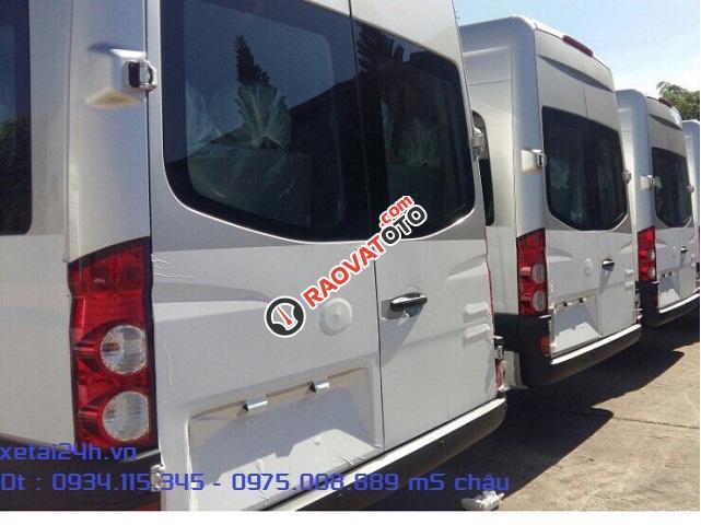 Xe du lịch 16 chỗ nhập khẩu | ô tô Jac 16 chỗ, nhập khẩu giá tốt nhất-1