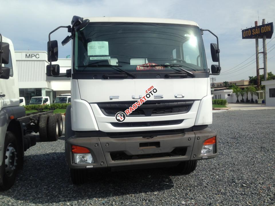 Bán xe tải Fuso 24 tấn khuyến mãi lớn - Hỗ trợ mua xe trả góp 80%-1