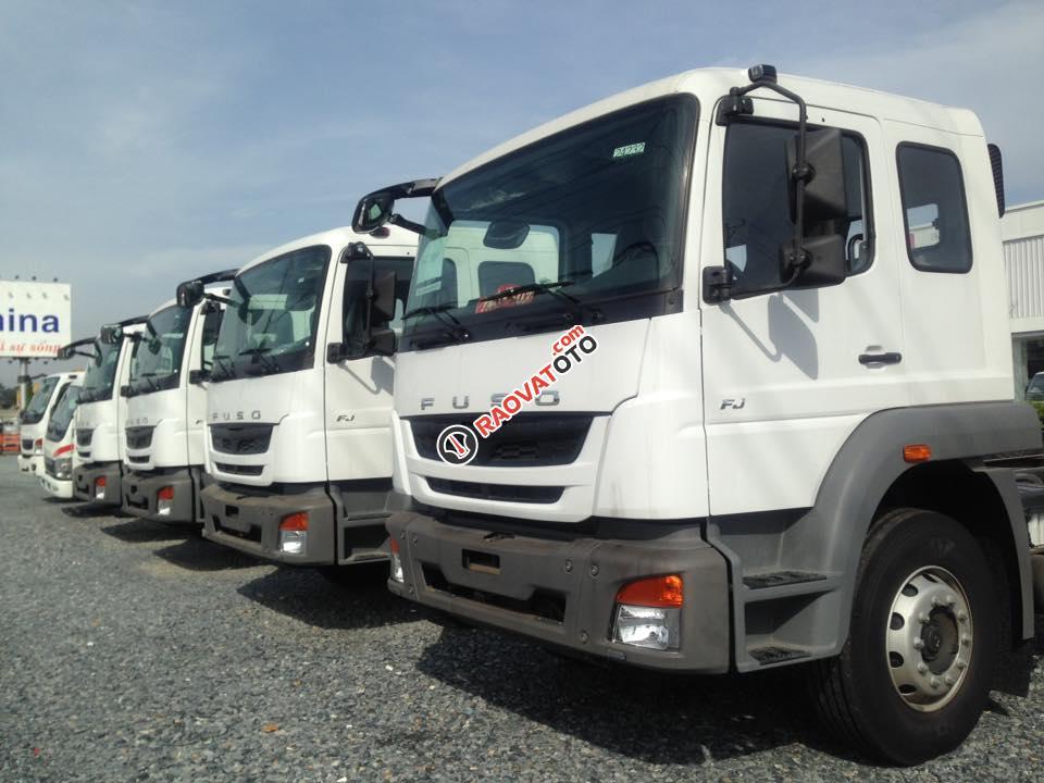 Bán xe tải Fuso 24 tấn khuyến mãi lớn - Hỗ trợ mua xe trả góp 80%-2