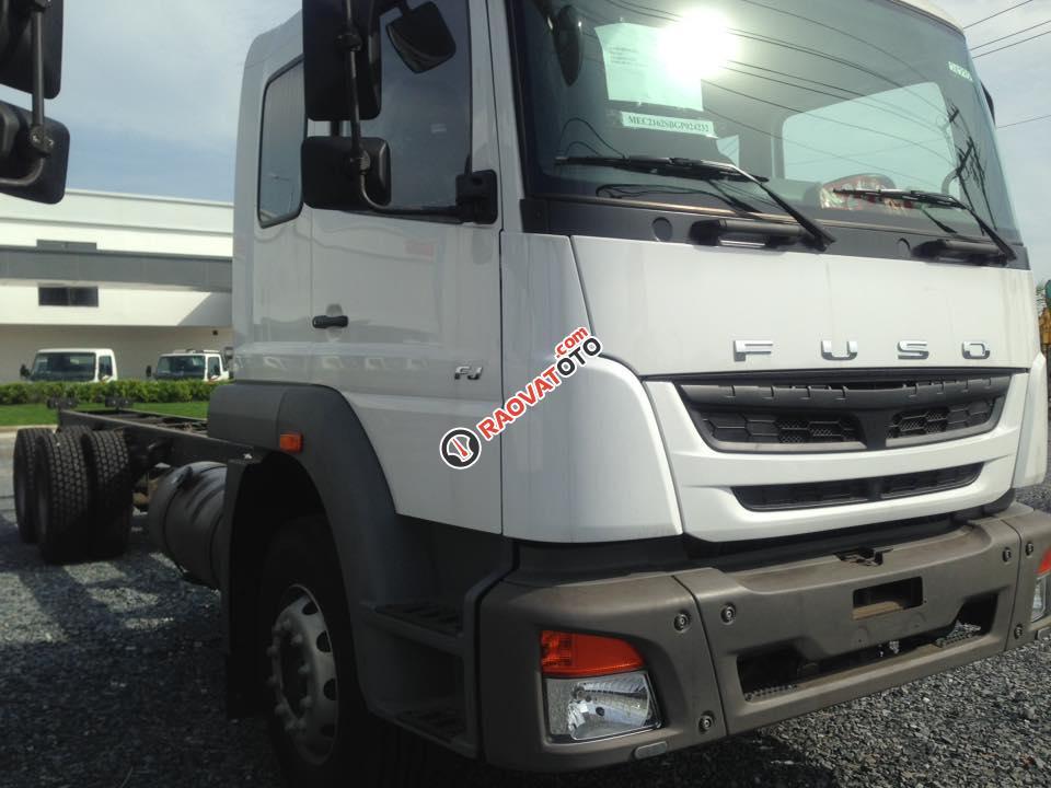 Bán xe tải Fuso 24 tấn khuyến mãi lớn - Hỗ trợ mua xe trả góp 80%-3