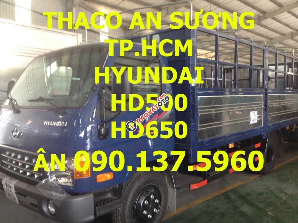 TP. HCM cần bán xe Thaco Hyundai HD650, sản xuất mới, giá cạnh tranh-0