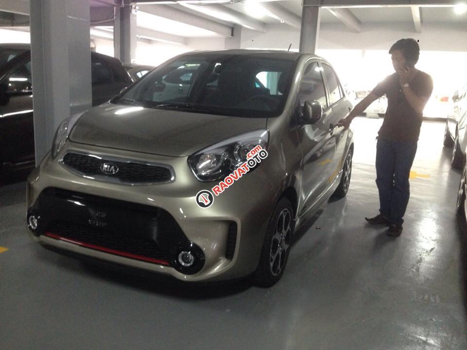 Cần bán xe Kia Morning Si MT năm 2018, màu đỏ-1