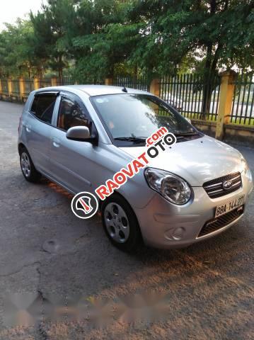 Cần bán xe Kia Morning đời 2011, màu bạc -0