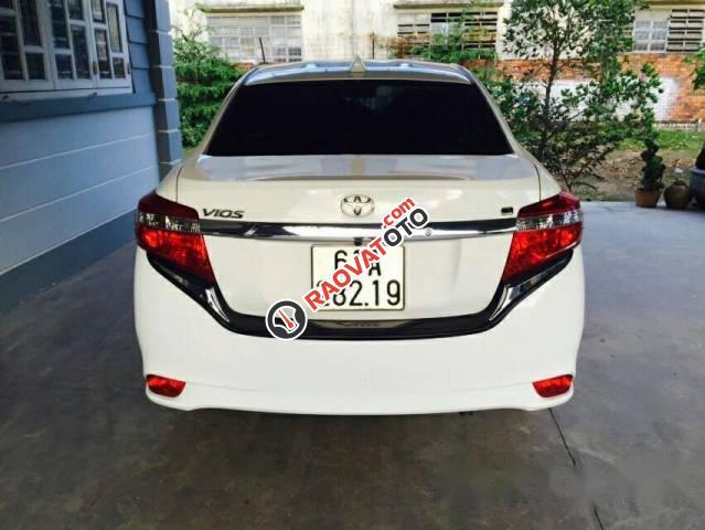 Bán Toyota Vios G 2016, màu trắng -3