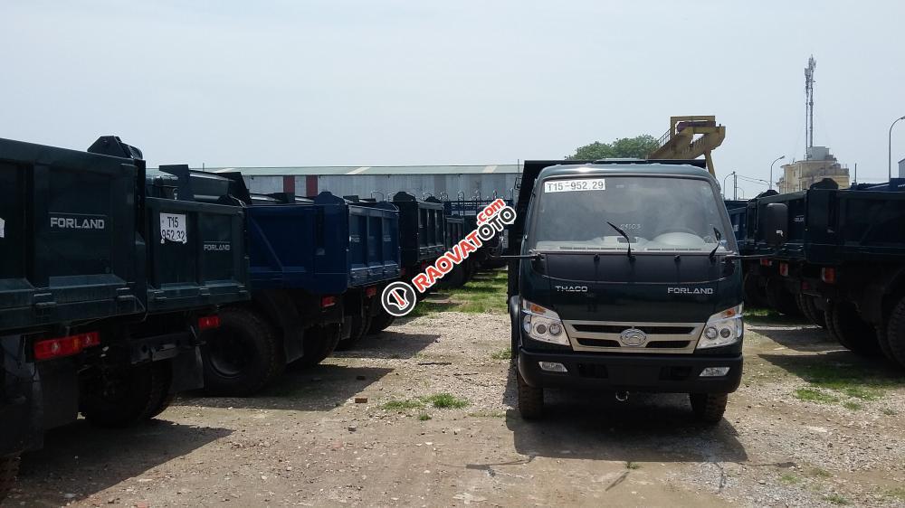 Giá xe Ben 6 tấn Thaco FLD600C Trường Hải uy tín, chất lượng, giá cả hợp lý-0