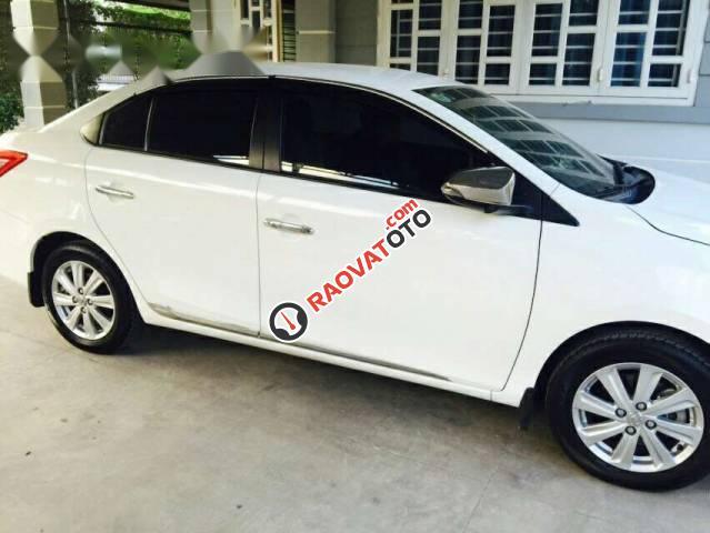 Bán Toyota Vios G 2016, màu trắng -0