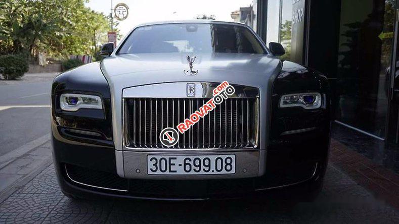 Bán Rolls-Royce Ghost sản xuất 2015, màu đen, nhập khẩu nguyên chiếc-2