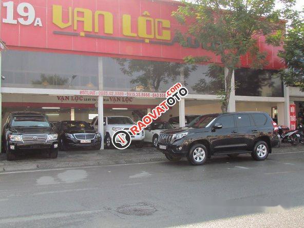 Cần bán Toyota Prado đời 2015, màu đen, nhập khẩu nguyên chiếc-2
