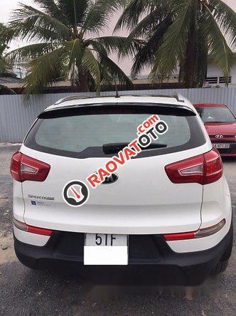 Bán xe Kia Sportage 2.0AT đời 2013, màu trắng, xe nhập-0